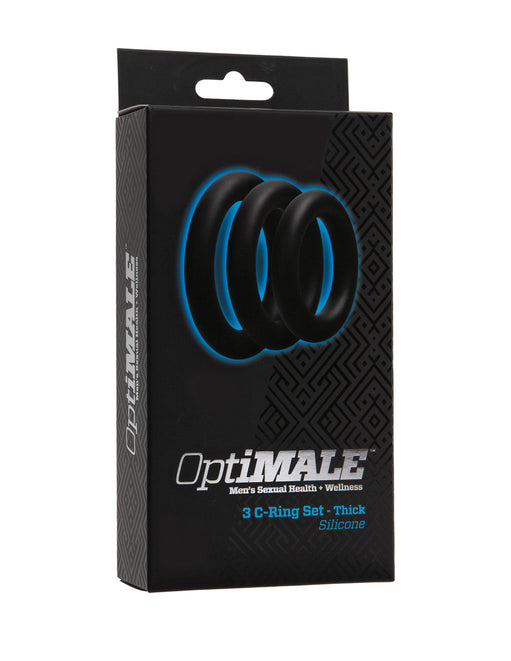 Optimale by Doc Johnson Thick Cockring Set Package
