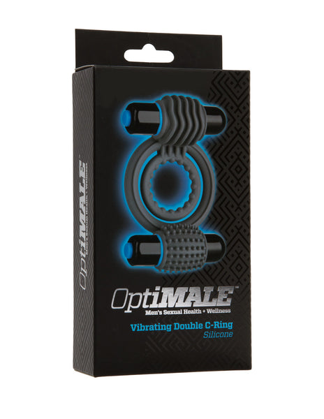Optimale by Doc Johsnon Double Vibrating Cockring Package