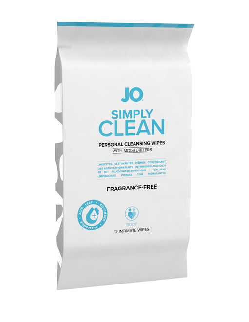 Jo Intimate Personal Cleansing Wipes Frangrance Free 12pk - Featured Image