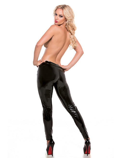 Allure Lingerie Sexy Skin Wet Look Stretch Pants - Lingerie - Fetish Womens