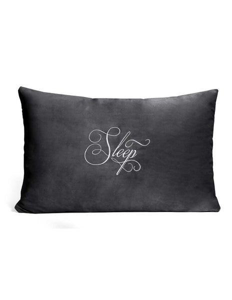 Liberator PillowTalk Sham- Black- Front