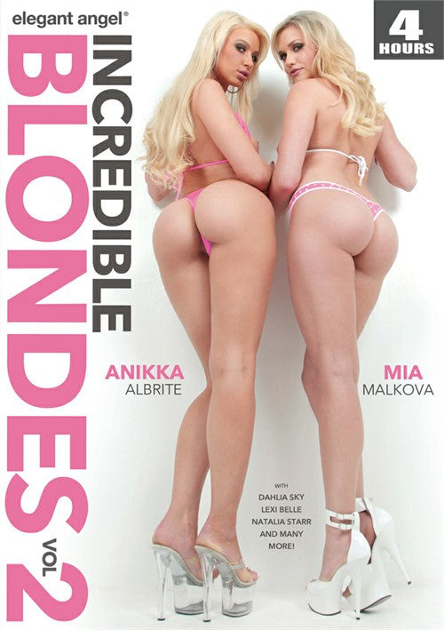 Elegant Angel 4 Hour Incredible Blondes 2 - Adult DVD - Specials - Featured Image