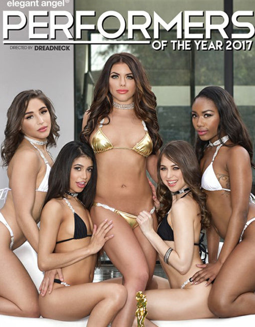 Elegant Angel Performers of the Year 2017 - Adult DVD - All Sex