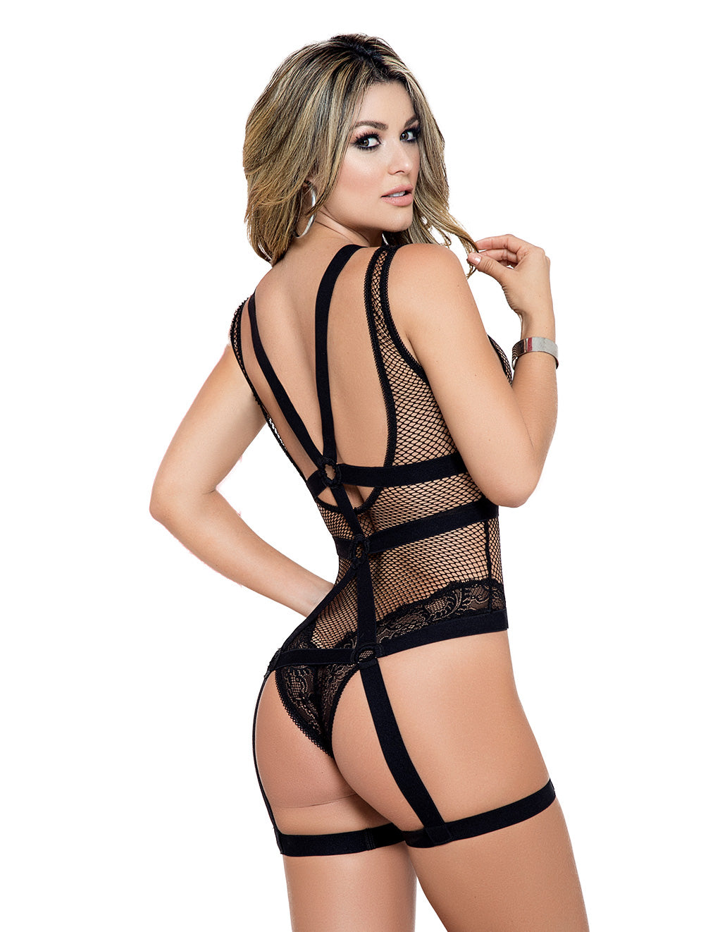 Mapale Net Teddy with Detachable Harness Extra Large