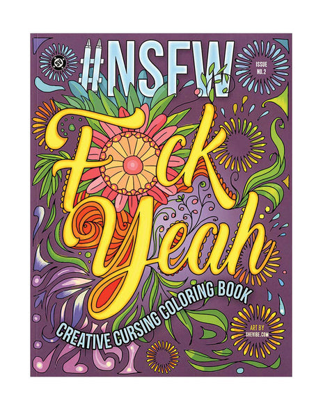 #NSFW Creative Cursing Coloring Book by Lady Cheeky and SheVibe
