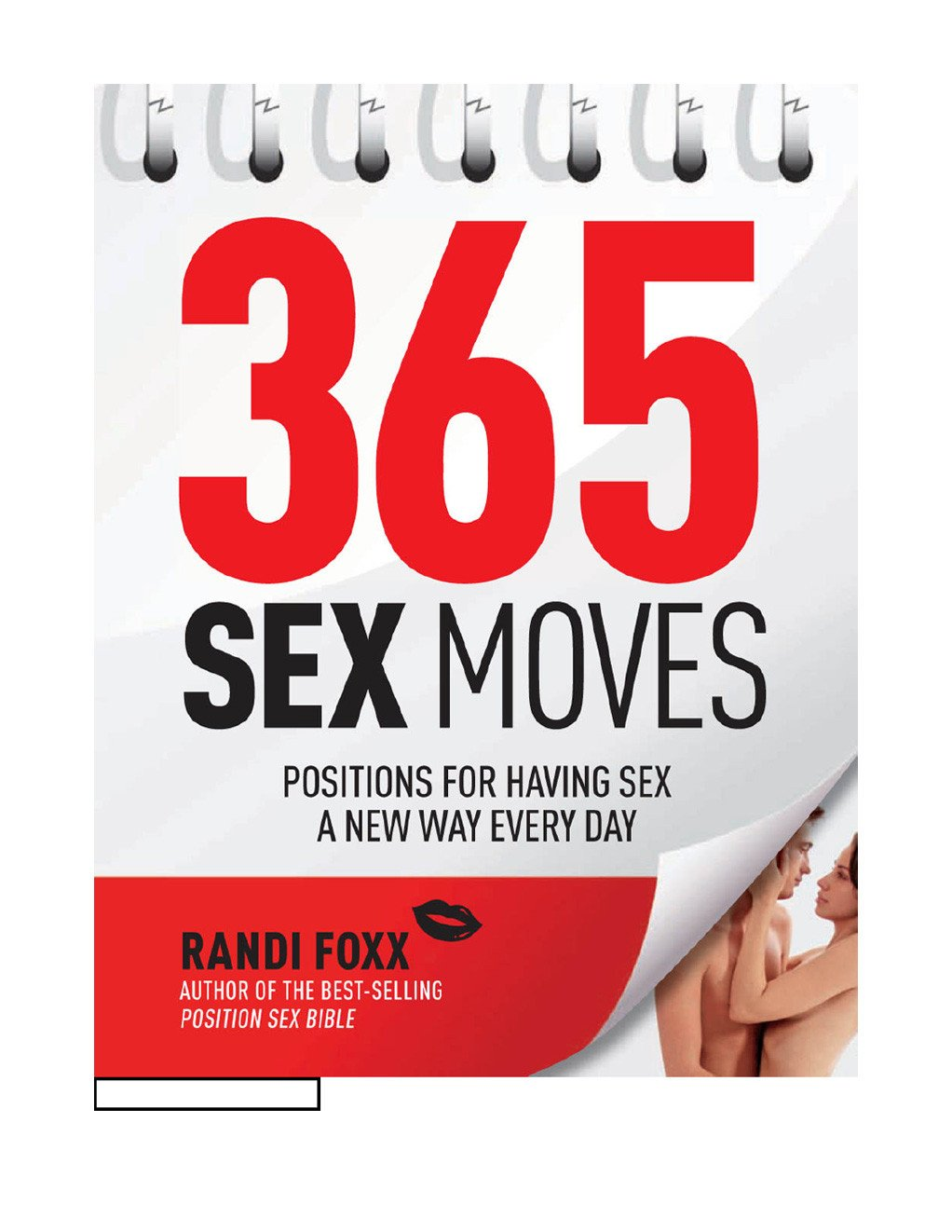 365 Sex Moves Instructional Book by Randi Foxx - Media - Books