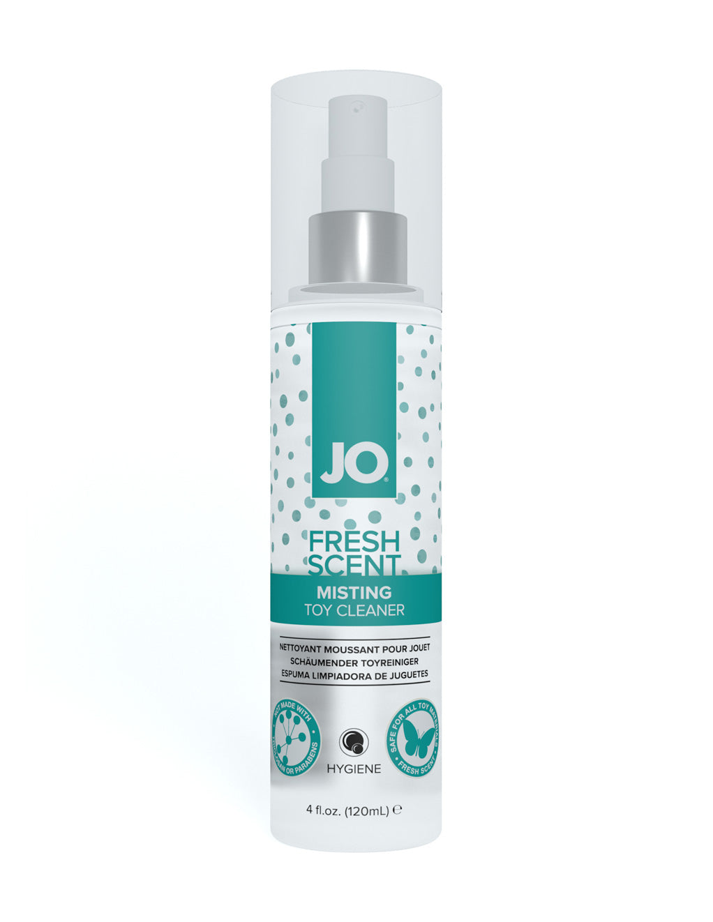 JO Fresh Scent Misting Toy Cleaner Front