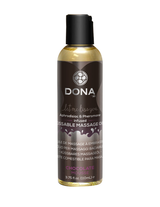 Dona by Jo Aphrodisiac & Pheromone Infused Kissable Massage Oil Chocolate 3.75oz