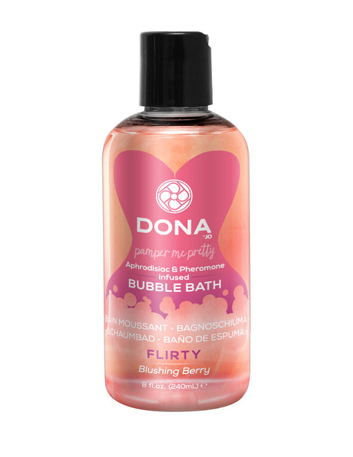 Dona by Jo Aphrodisiac & Pheromone Infused Bubble Bath Flirty Blushing Berry 8oz