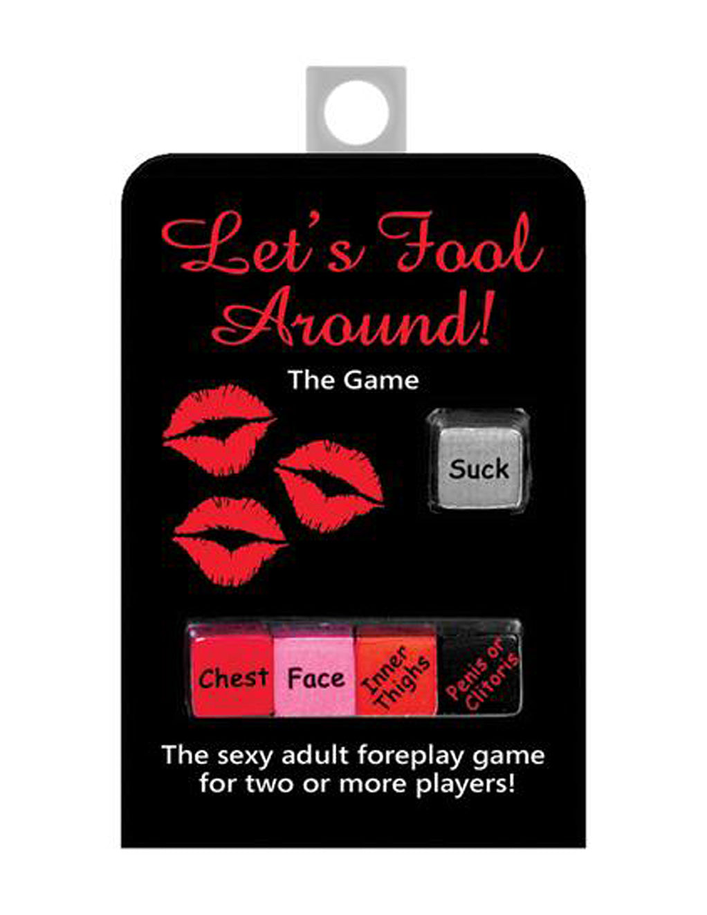 Kheper Games Let's Fool Around Dice Game Front