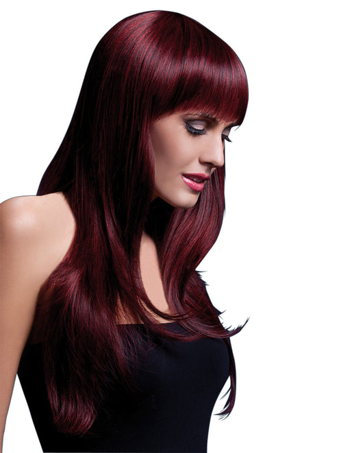 Fever Sienna Wig Black Cherry