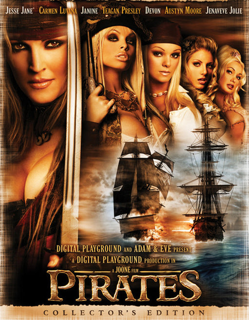Pirates (3 Disc Set) - Adult DVD - Mainstream - Featured Image