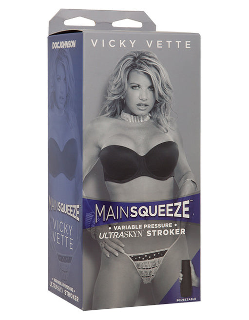 Main Squeeze Vicky Vette Pocket Pussy Masturbator Package