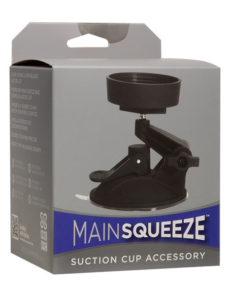 Main Squeeze Masturbator Suction Cup Accessory Package