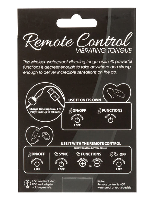 Simple & True by BMS Factory Remote Control Vibrating Tongue