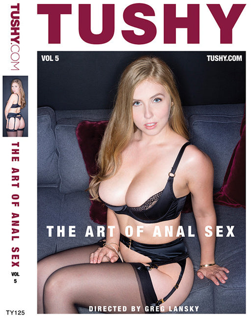 Tushy Art of Anal Sex vol 5 - Adult DVD - All Sex - Featured Image