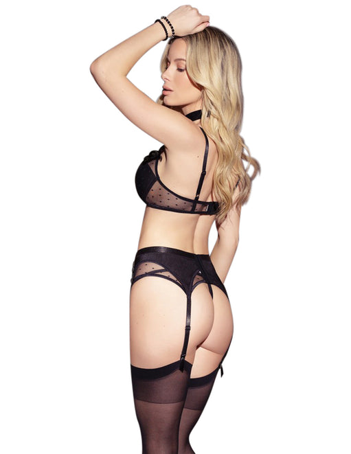coquette Black Boudoir Lingerie Set Medium - Featured Image