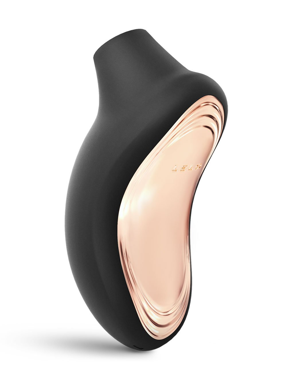 Lelo Sona 2 Sonic Clitoral Massager- Black- Back
