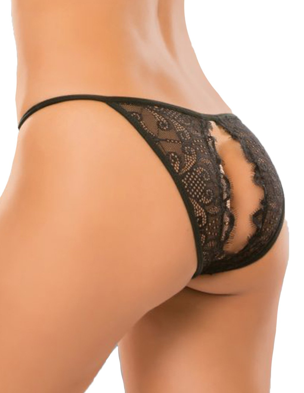 Adore by Allure Enchanted Belle Lace String Open Back Panty Back