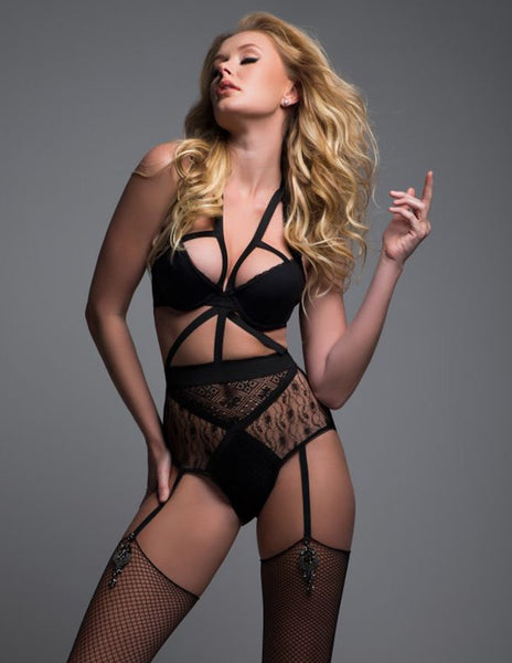 Adore by Allure Angel of Love Lace Teddy Look Away