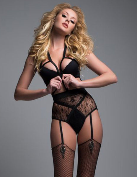 Adore by Allure Angel of Love Lace Teddy Sexy