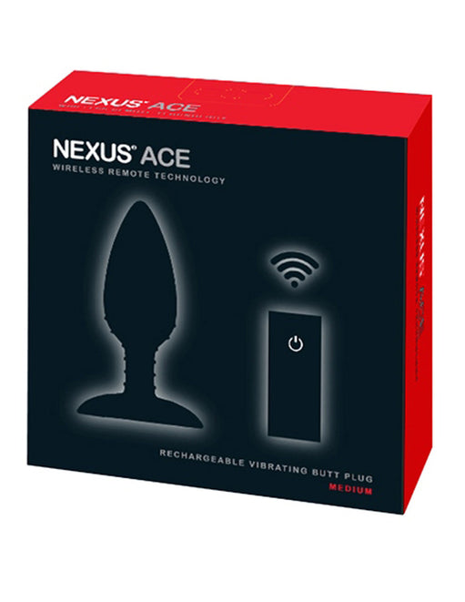 Nexus Ace Medium Vibrating Butt Plug Package - Featured Image