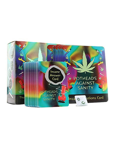 Kheper Games Potheads Against Sanity Card Game Cards And Box