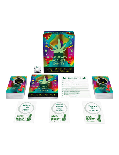 Kheper Games Potheads Against Sanity Card Game Collection