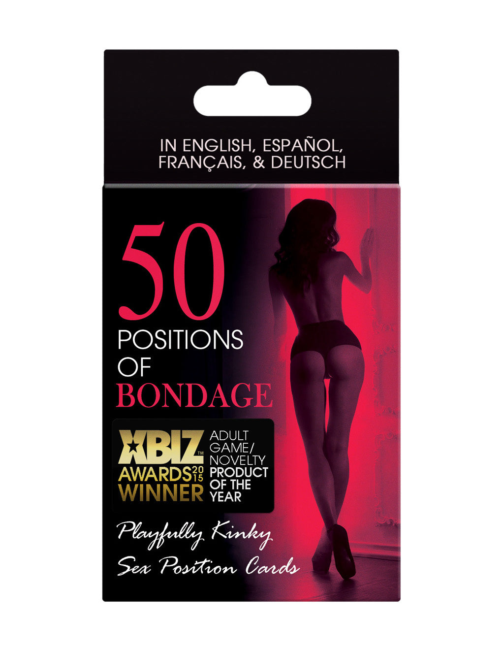 50 Positions Bondage Card Game- Front