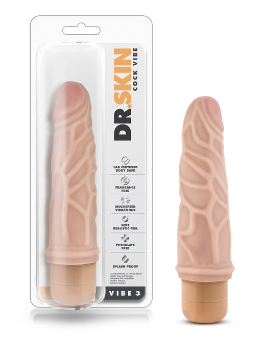 Dr Skin by Blush Novelties Cock Vibe 3