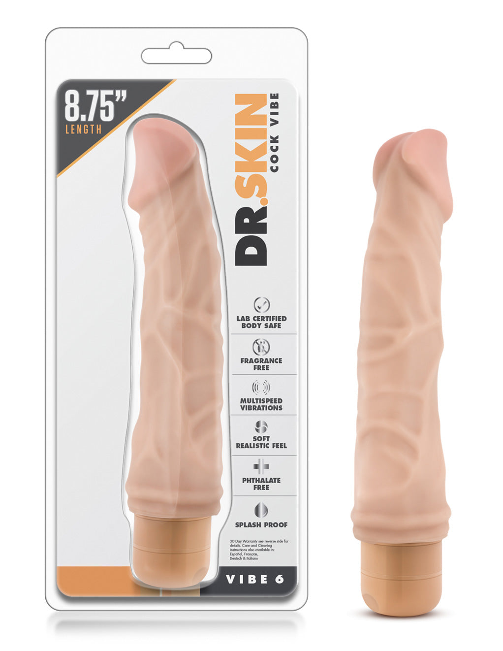 Dr Skin by Blush Novelties Cock Vibe 6
