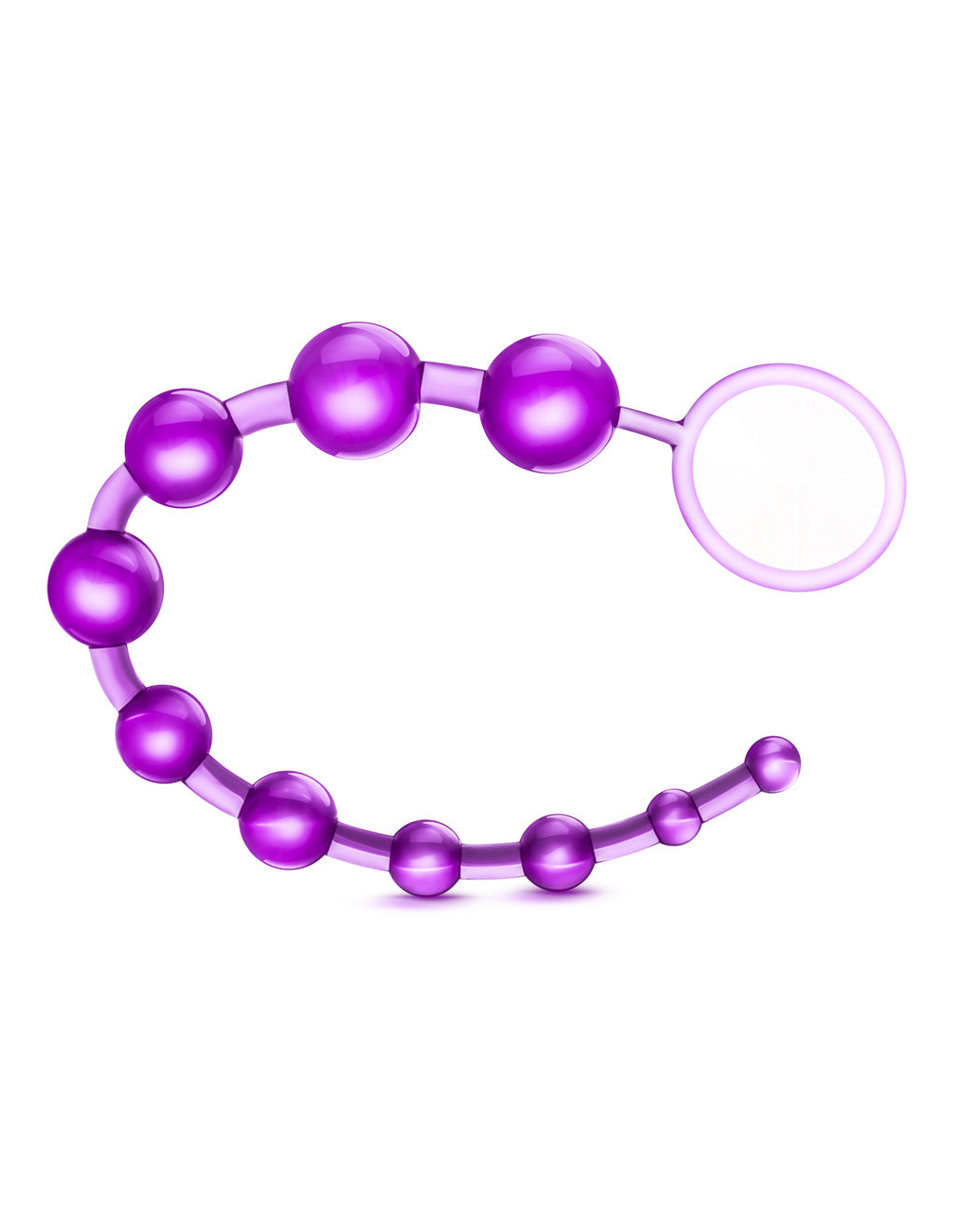 B Yours Basic Anal Beads- Purple