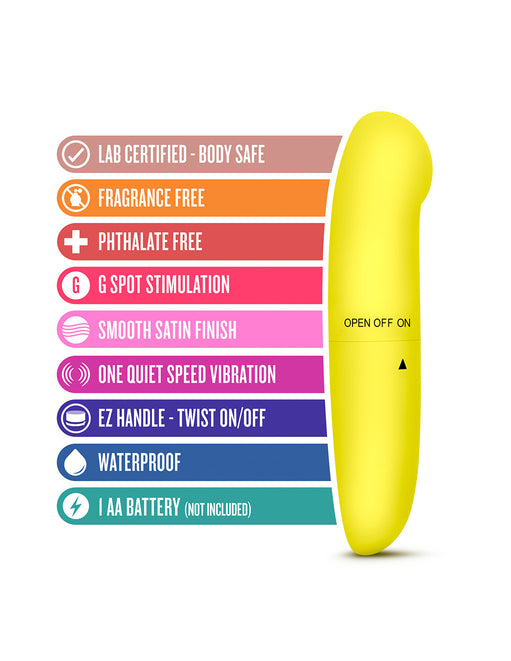 Revive G Tease G-Spot Vibrator- yellow features - Featured Image