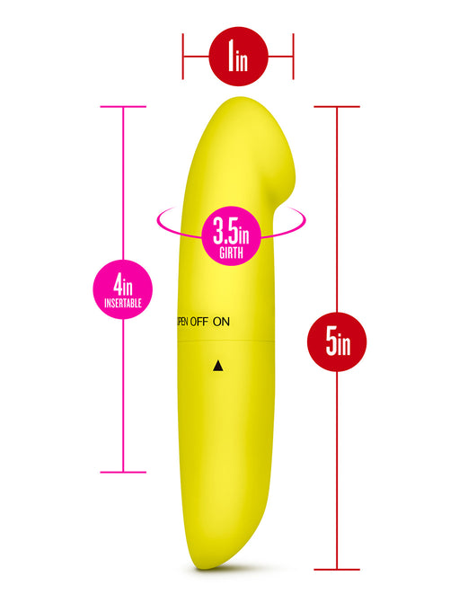 Revive G Tease G-Spot Vibrator- yellow sizing - Featured Image