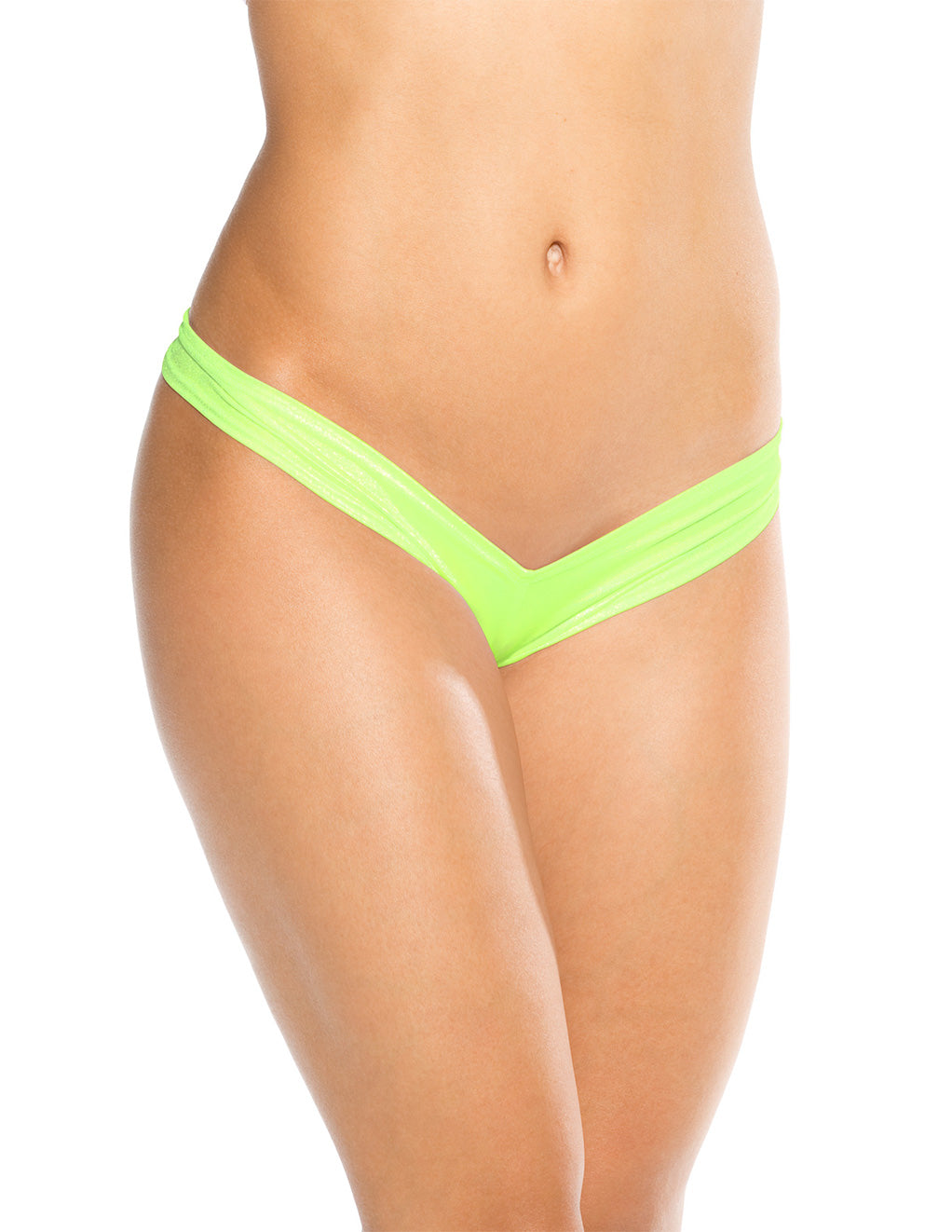 Bodyshotz Scrunch Back Boyshort Neon Green