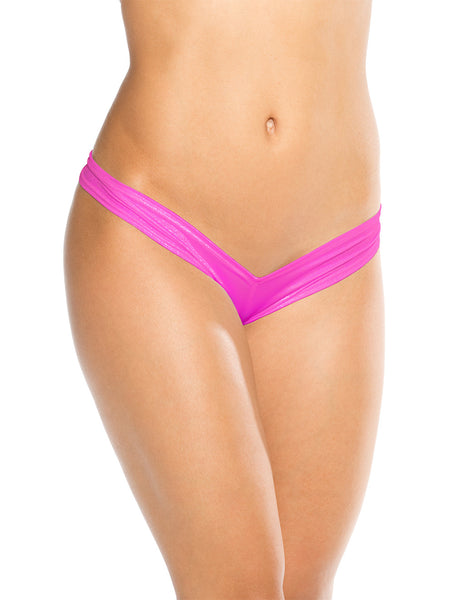 Bodyshotz Scrunch Back Boyshort Neon Pink