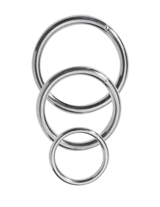 Spartacus Nickel Cockring Set