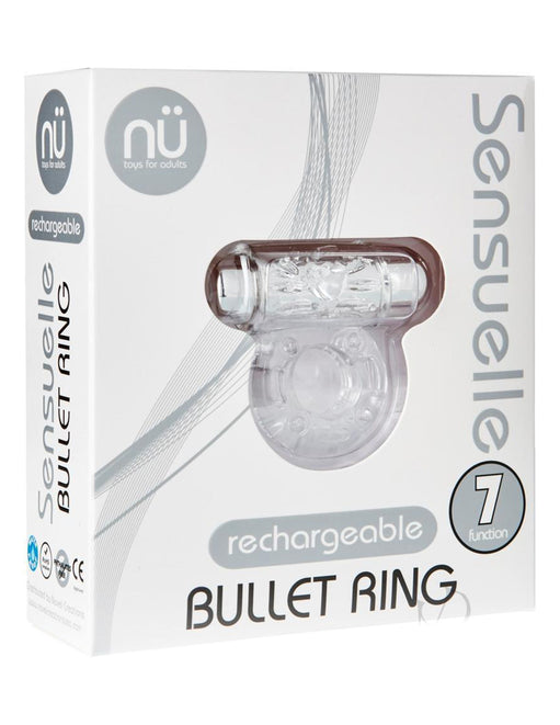 Sensuelle Bullet 7 Function C Ring - Novelties - Cockring