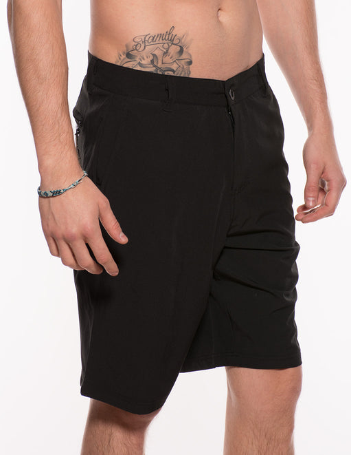 Hustler Men's Logo Hybrid Shorts - Apparel Mens - Bottoms