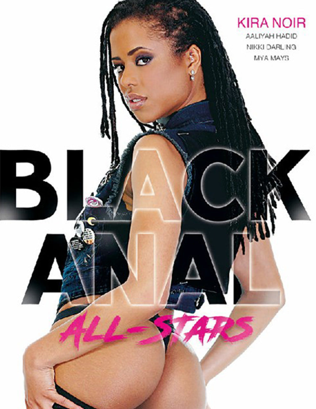 Burning Angel Black Anal All Stars - Adult DVD - Ethnic