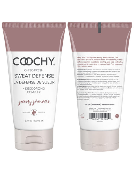 Coochy Sweat Defense Lotion