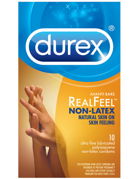 Durex Avanti Real Feel Condoms 10pk