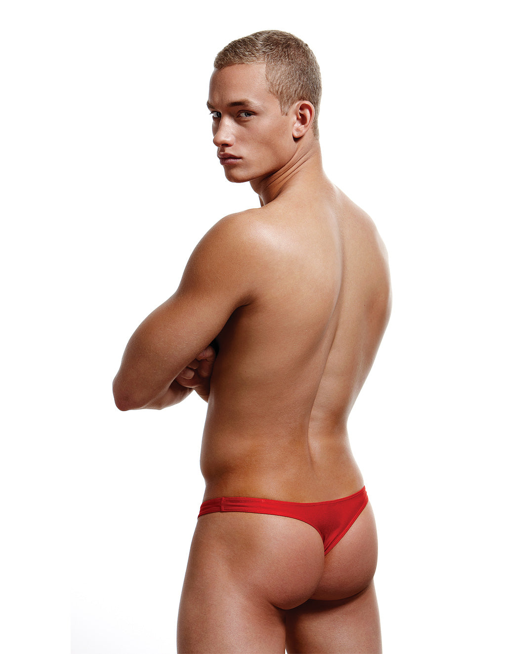 Envy Low Rise Thong Red Back