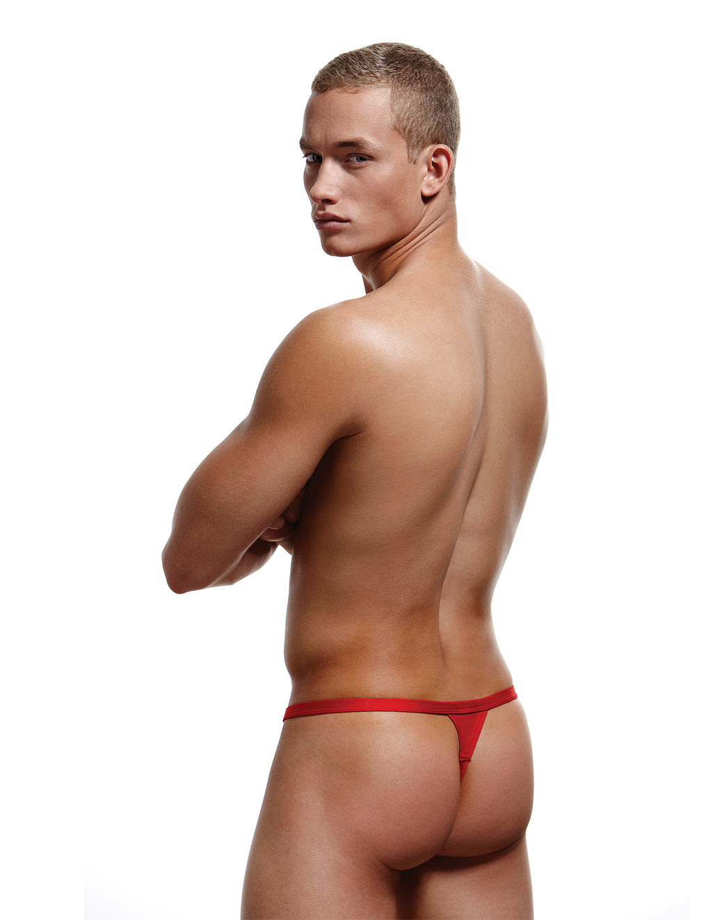 Envy Breakaway Thong Red Back
