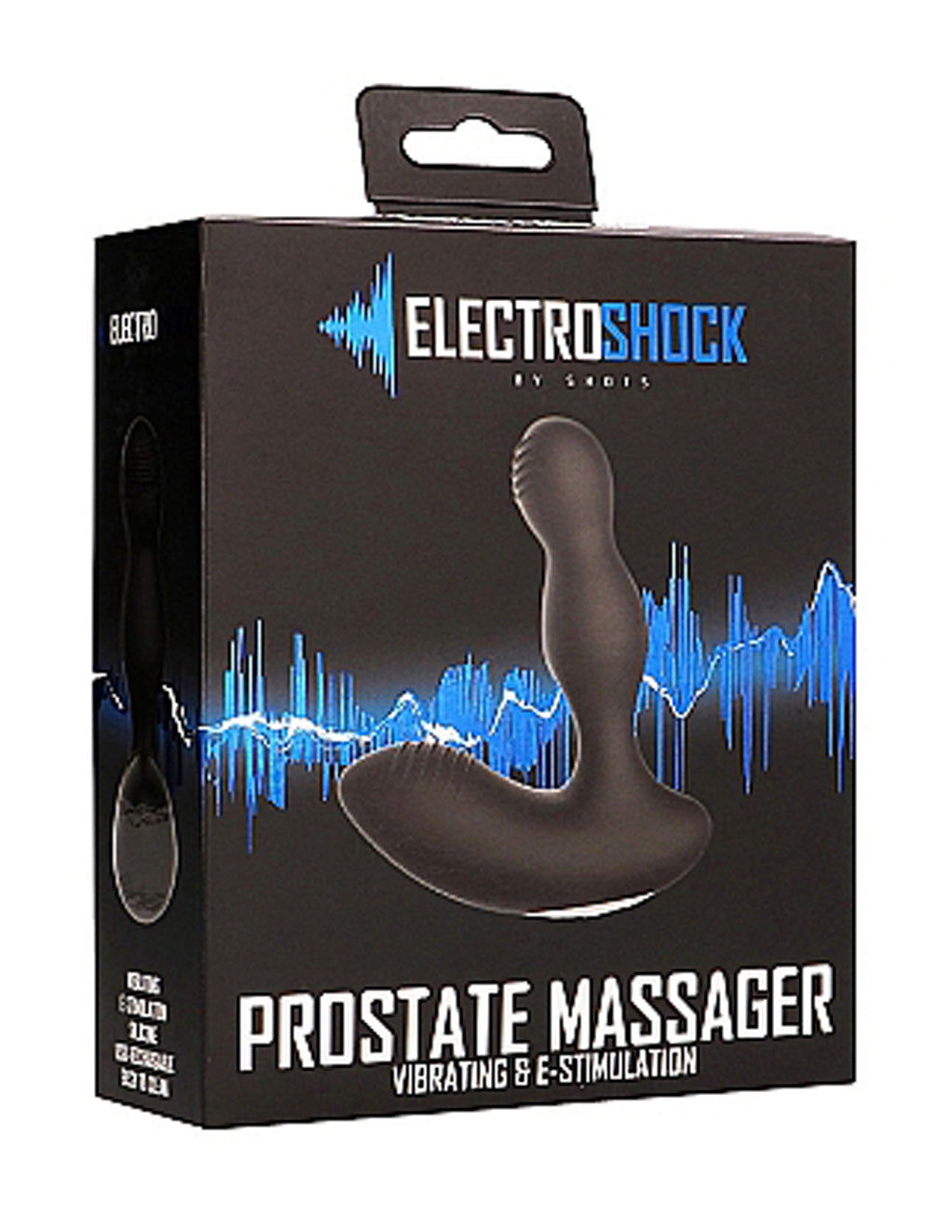 E-Stimulation Vibrating Prostate Massager packaging