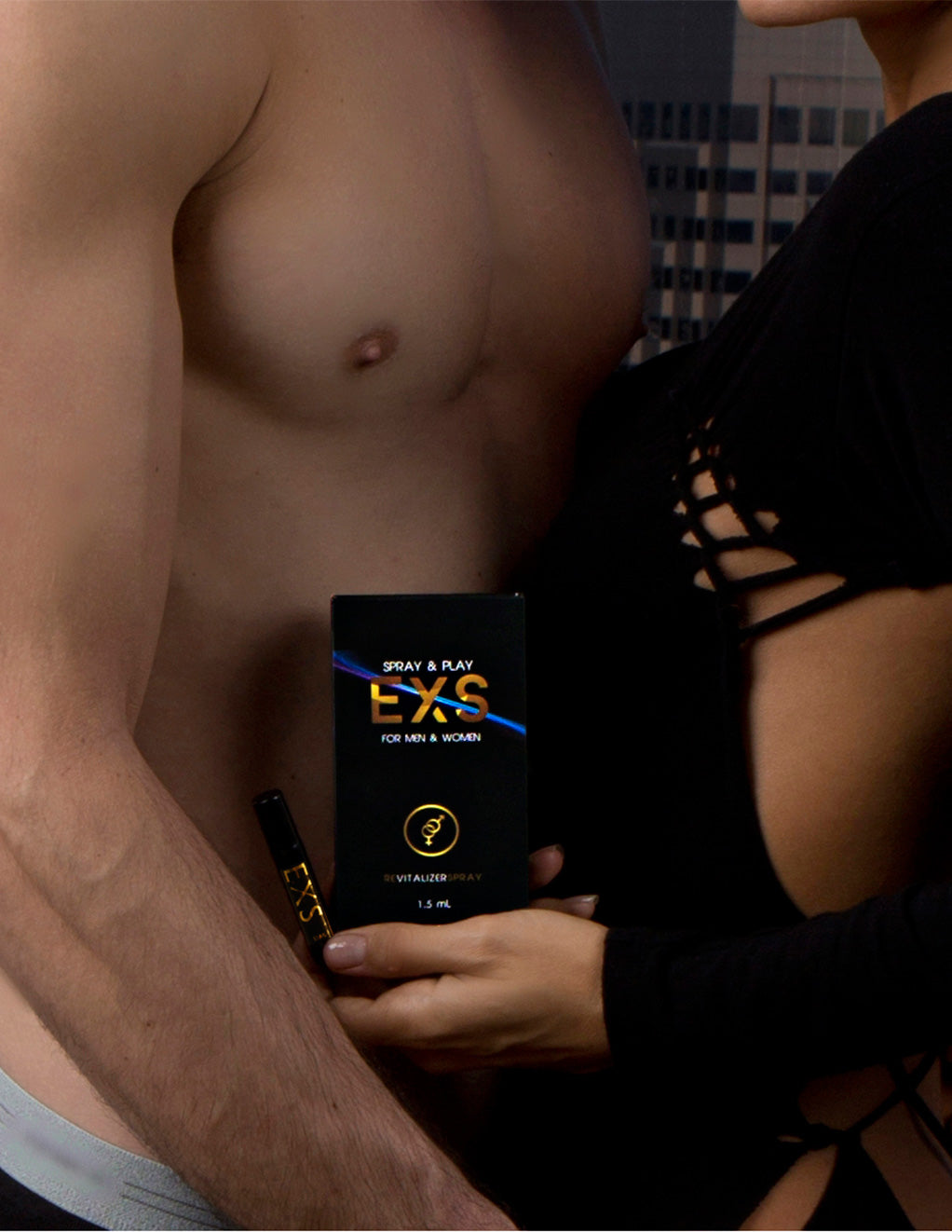 EXS Spray for Men & Women Styled Couple