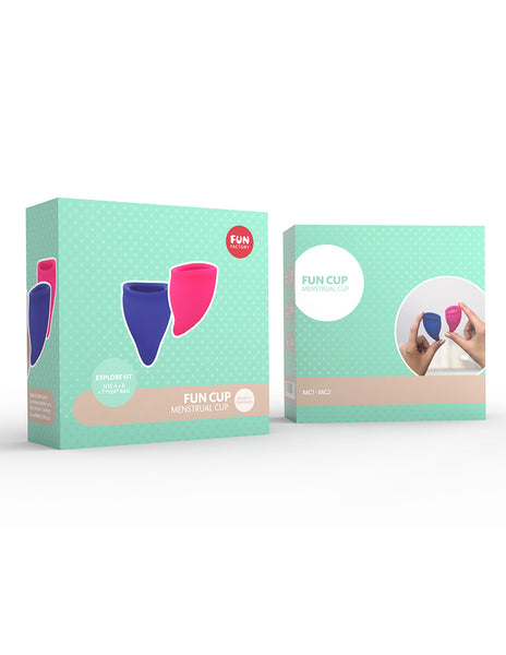 Fun Factory Fun Cup Menstrual Cup Explore Kit - Personal Care - Hygiene