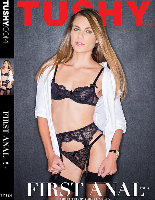Tushy First Anal 4 - Adult DVD - All Sex - Featured Image