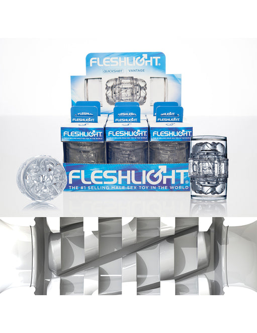 Clear Fleshlight Vantage by Fleshlight in a pack