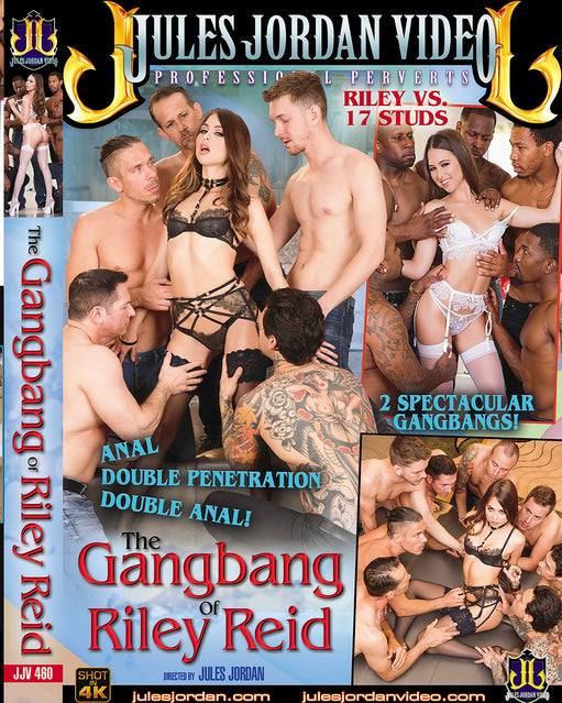 Jules Jordan The Gangbang of Riley Reid - Adult DVD - Group